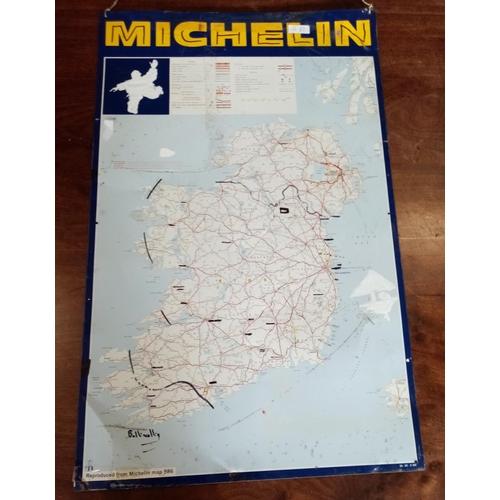 38 - Michelin Sign on Tin