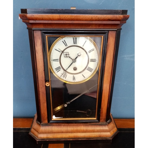 5 - Mantel Clock with Pendulum and Key