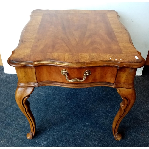 7 - Side Table with Fitted Drawer