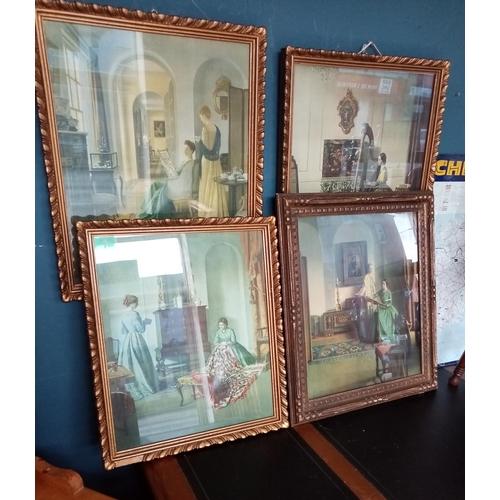 32 - Set of 4x Framed Pictures