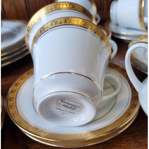 2 - Contemporary by Noritake Legacy Gold Tea Set