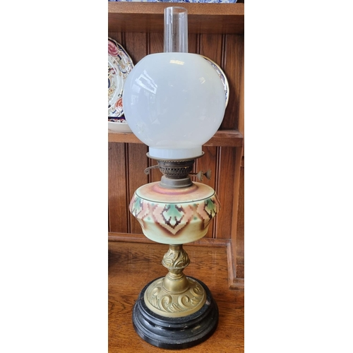 6 - Oil Lamp and Shade