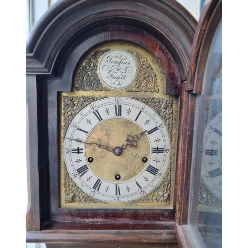 7 - Mahogany Grandmother Clock