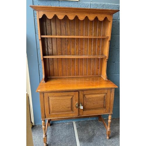 8 - Oak Dresser 190cm high x 107cm wide x 50cm deep