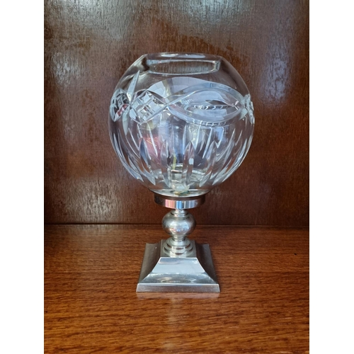 52 - Waterford Crystal Candle Holder