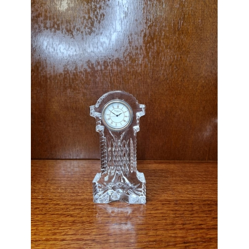 57 - Small Waterford Crystal clock