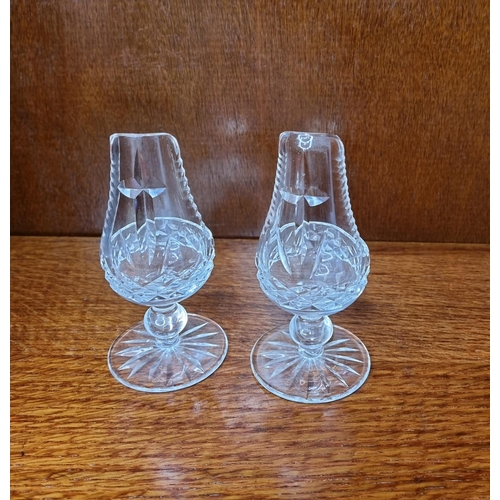 58 - Pair of Waterford Crystal Holy Water Fonts