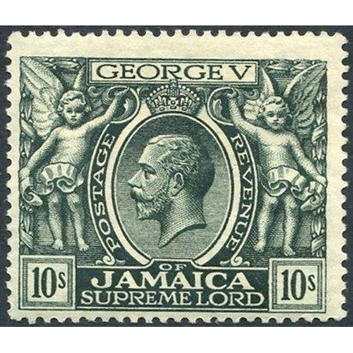 1056 - 1920 MCCA 10s myrtle green, M centred low left (tiny tone spot), SG.89, Cat. £80...
