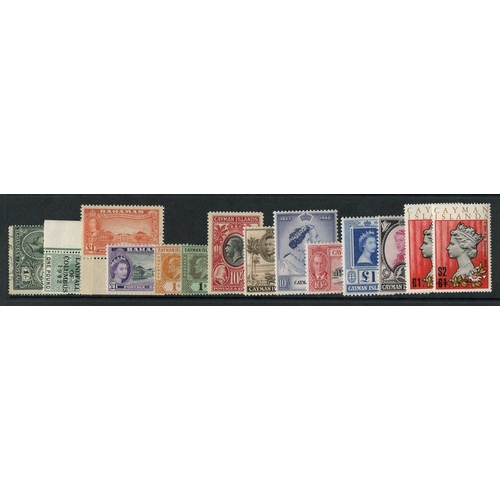 108 - BRITISH WEST INDIES collection of M or UM housed in two ring binders incl. Bermuda miscellaneous ran...