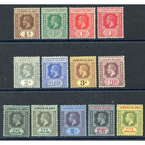 1093 - 1912-22 MCCA set (excluding 4d) fine M, extra 1s value, SG.46/57. (13) Cat. £110+...