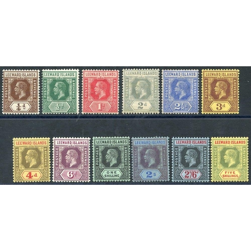 1094 - 1912-22 MCCA set, fine M, SG.46/57. (12) Cat. £110...