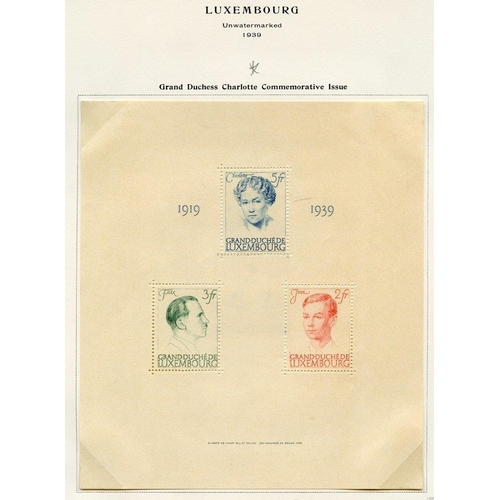 1100 - 1852-2006 fine collection of mainly M or UM neatly presented in a Scott Speciality album earlies are...