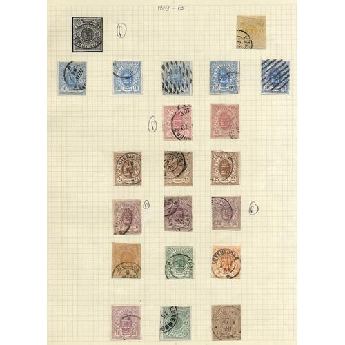 1101 - 1859-63 Imperf 2c, 4c, 10c (5), 12½c (2), 25c (3), 30c, 37½c & 40c (2) all U, also Imperf 4c green, ...