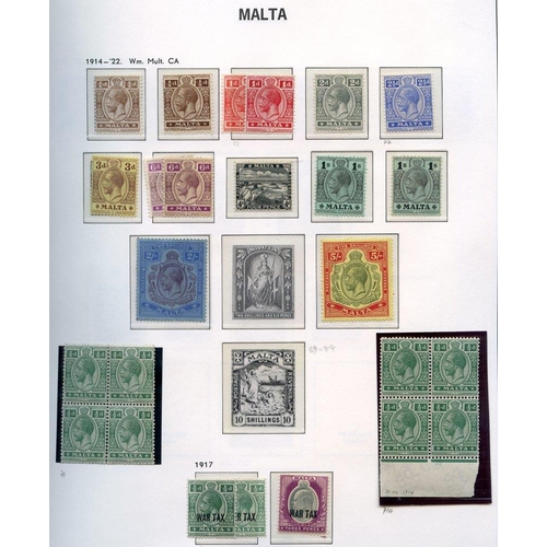 1129 - 1860-2001 M or UM collection housed in a Davo hingeless album, highlights incl. 1902 One Pnney withi...