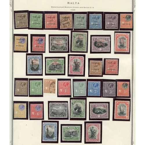 1130 - 1863-1984 mainly M or UM collection housed in a Scott Printed album incl. 1885 QV set, 1886 5s, 1899...