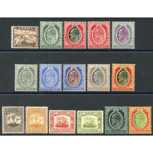 1137 - 1904-14 MCCA set, M (excl. 1s SG.61), SG.45/63. (16) Cat. £207...