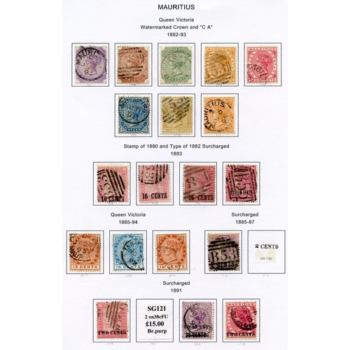 1150 - Collection on leaves with 1858 4d green, 1858-62 9d, 1859-61 6d blue, 1859 Dardenne 1d (poorish), 18...