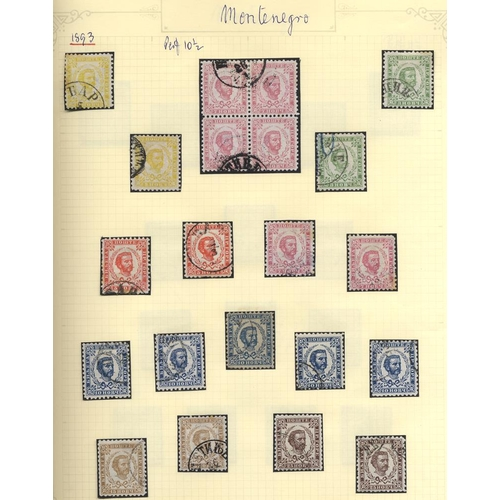 1167 - Collection in album with very a good range of Prince Nicholas issues, also postal stationery cards w...