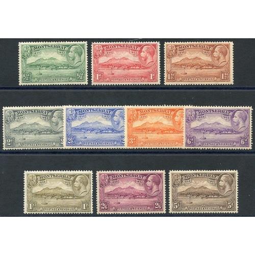 1169 - 1932 Settlement set M, SG.84/93. (10) Cat. £160...