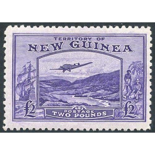 1187 - 1935 Air £2 bright violet, fresh M, SG.204. (1) Cat. £350...