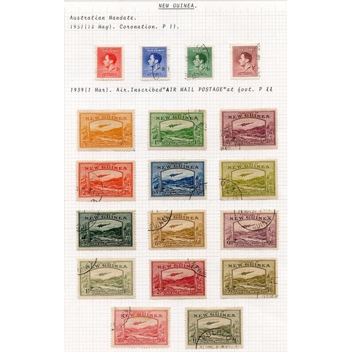 1188 - 1937 Coronation & 1939 Defin set VFU, SG.208/11 & 212/225. (18) Cat. £856...