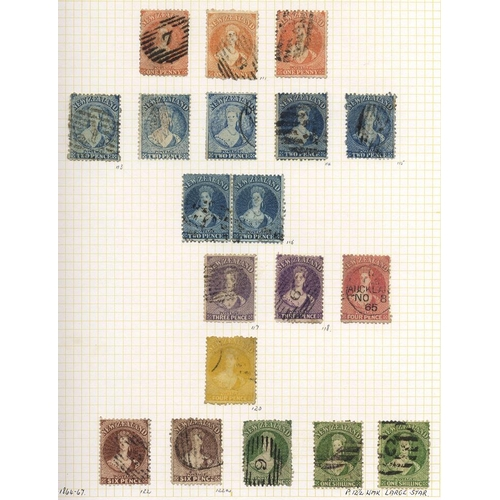 1197 - 1862-1978 collection of good to VFU in a Merton album with a useful range of Chalons incl. 1862 (Feb...