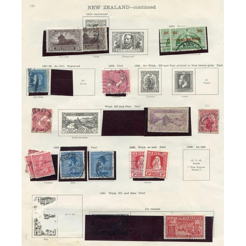 1198 - 1873-1936 M & U remaindered collection on printed leaves incl. 1926 Admiral 2s U (2), 1932 Arms 7/6d...