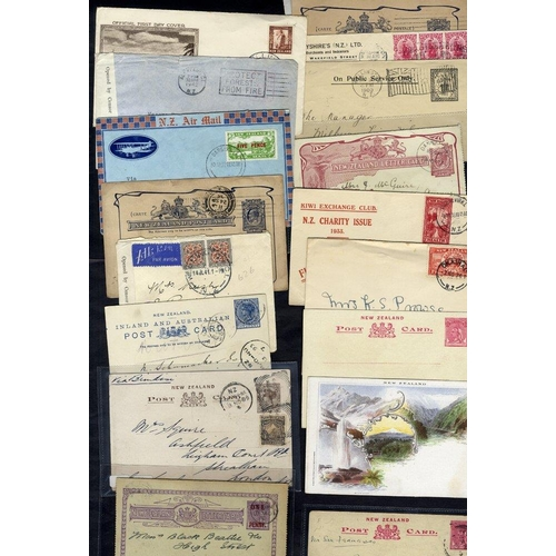 1202 - 1893-1944 range of covers incl. unused stationery, incl. 1940 registered envelope unused, 4d Mitre P...
