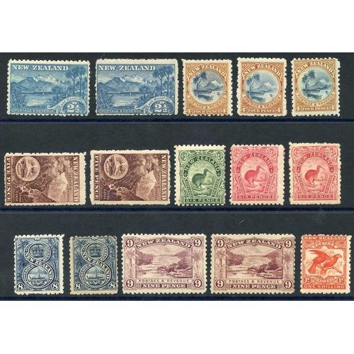 1204 - 1899 Pictorial Defins - 2½d (2) SG.260, 260c, 4d (3) SG.262, 262a, 262b, 5d (2) SG.263, 263a, 6d (3)...