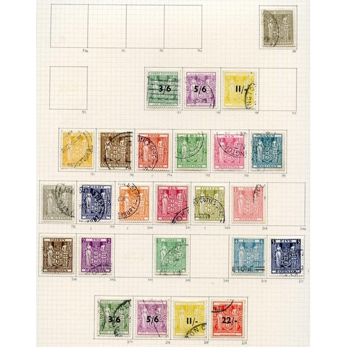 1211 - 1937-52 collection U on philatelic leaves, a largely complete run through with gaps in the postal fi...