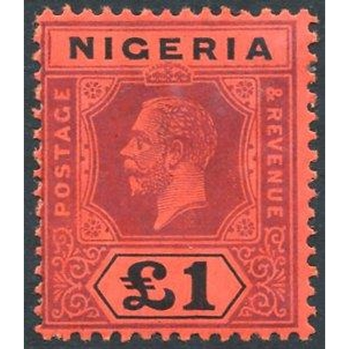 1239 - 1927 MCCA £1 Die II, fresh M, SG.12b. (1) Cat. £275...
