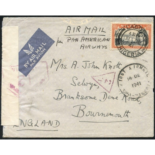 1245 - 1936-46 airmails collection of mainly special or first flights (17) incl. 1936 (Feb) Elders Airways ...