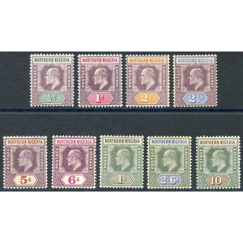 1256 - 1902 CCA set, M (6d unused), SG.10/18. (9) Cat. £170...