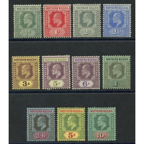 1257 - 1910-11 MCCA set fine M, SG.28/39. (11) Cat. £120...