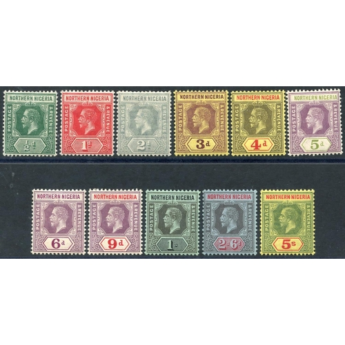 1260 - 1912 MCCA set to 5s, fine M, SG.40/50. (11) Cat. £64...