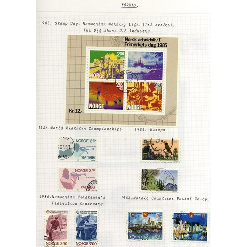 1264 - 1910-2002 good to VFU collection housed in a Davo album - nice run through. (100's)...