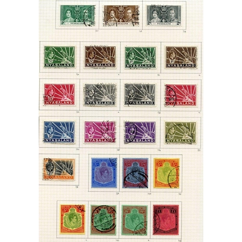 1270 - 1937-51 collection U on philatelic leaves. 1938 set plus 1944 5s & second 10s, these fine but the fi...