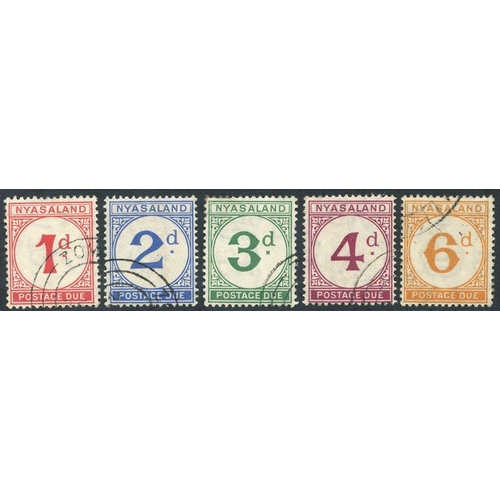 1271 - 1950 Postage Due set VFU SG. D1/D5. (5) Cat. £250...