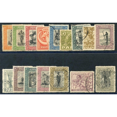 1290 - 1932 Pictorial set complete FU, SG.130/145. (16) Cat. £450...