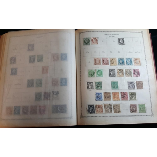 131 - FOREIGN collection in Old Imperial album of pre-war issues up to 1914-15, M & U ranges. (100's)...