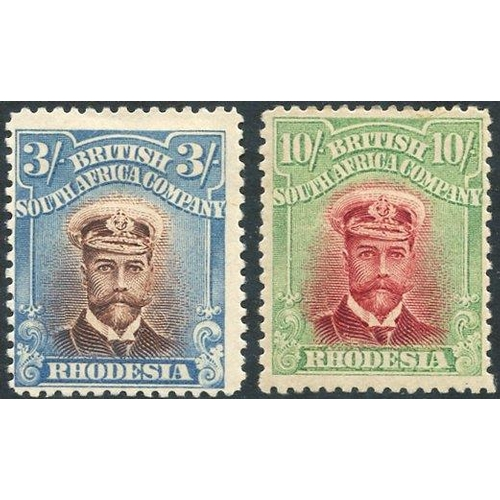 1376 - 1913-22 Admirals Perf 14 3s (SG.237) & 10s (SG.241), both fine M. (2) Cat. £330...