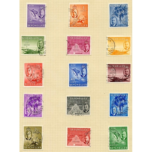 1411 - Collection on leaves with 1890-92 Die I & Die II sets, 1893 set to 90c, 1893 to 45c, 1897 to 1r, 190...