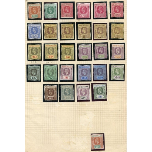 1417 - 1917-22 MCCA set, M + extra shades, SG.82/97. (29) Cat. £270...