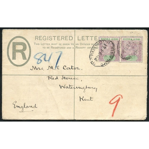 1432 - 19th/20thC collection in album & loose with ½d, 1d & 1½d postal stationery cards with QV 1d postal s...