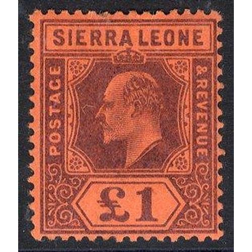 1433 - 1903 CCA £1 purple/red, fine M, SG.85 (1) Cat. £275...