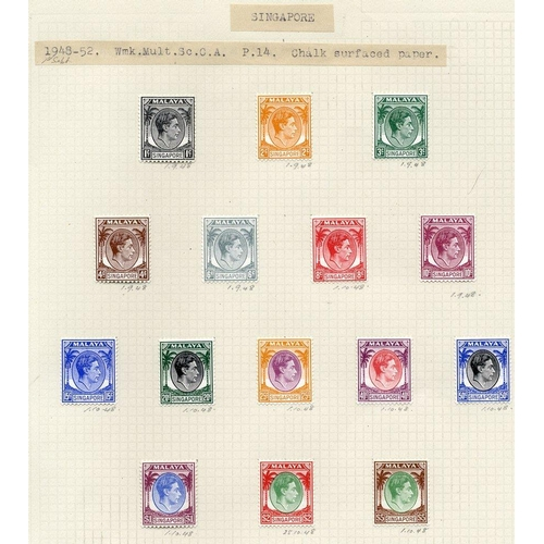 1444 - 1948-68 chiefly M collection on leaves incl. 1948 P. 14 set M, P. 17½ x 18 vals to $5, 1948 Wedding ...