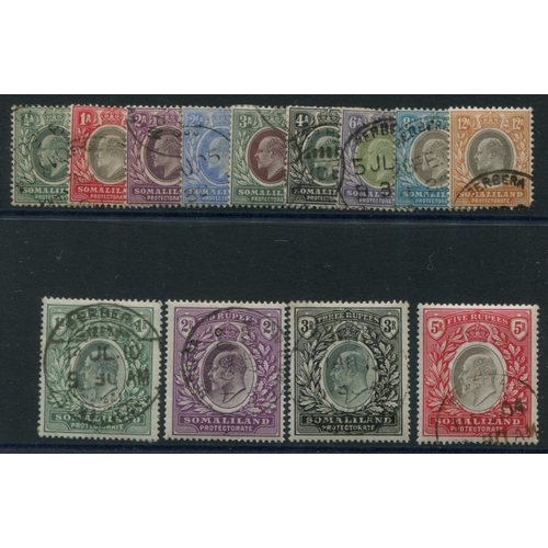 1461 - 1904 CCA & CCC set, VFU, SG.32/44. (13) Cat. £425...
