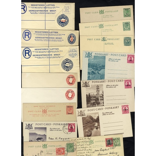 1480 - 20thC range of postal stationery, mainly unused but some are U from KGV, o/p envelopes incl. reg pos...