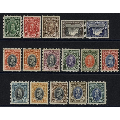 1492 - 1931 KGV Defin set, M (2/6d thinned), SG.15/27 + extra 4d. (16) Cat. £150+...