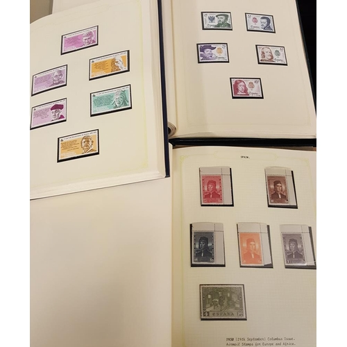 1495 - 1856-1992 generally mixed M & U collection in three albums. A small selection of 19th Century issues...